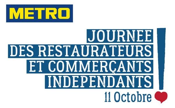 logo Journée des restaurateurs et commerçants indépendants Metro