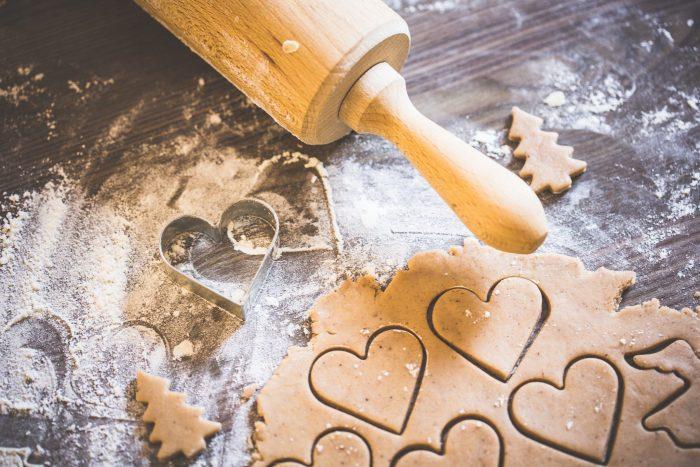 coeurs en pâte