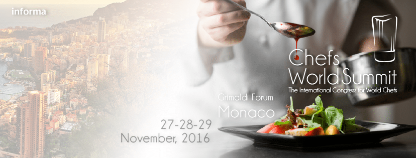 Chefs world summit 2016