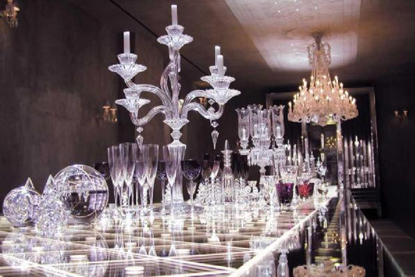 Baccarat cristallier emblématique