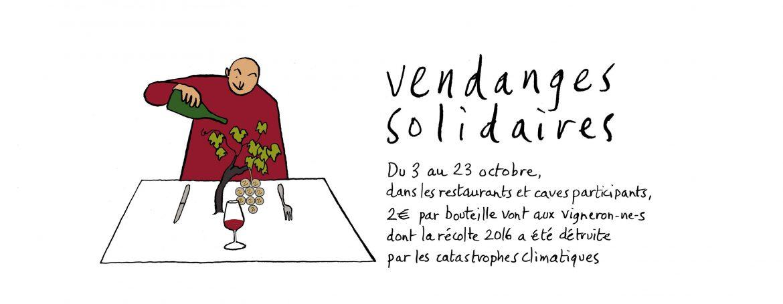 Opération Vendanges solidaires