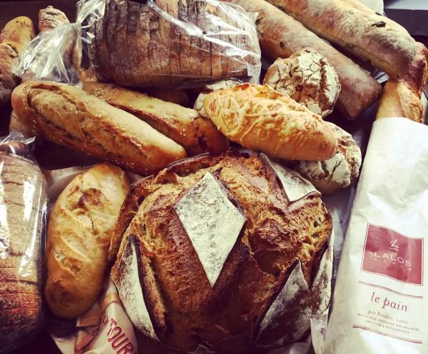 baguettes et pains Frédéric Lalos
