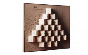 calendrier de l'avent La Maison du Chocolat 2016