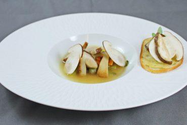Soupe de cèpes de Montalcino par Alain Ducasse