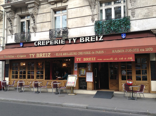 Les 10 meilleures crêperies de Paris