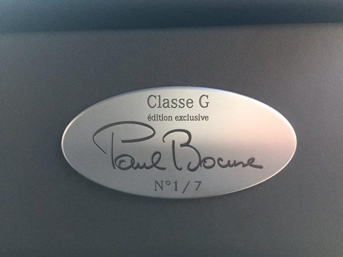 Classe G Paul Bocuse