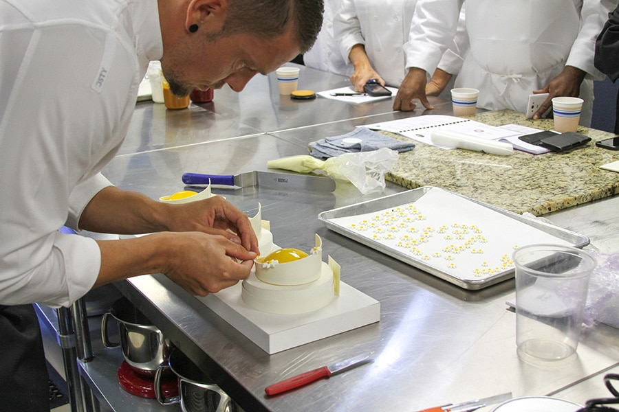 Johan Martin en cuisine