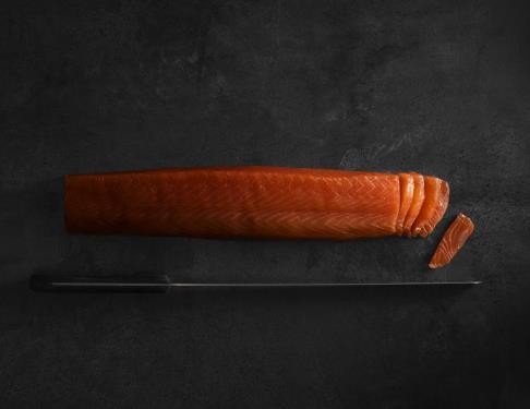 Le saumon fumé de l'Adour de la maison Barthouil