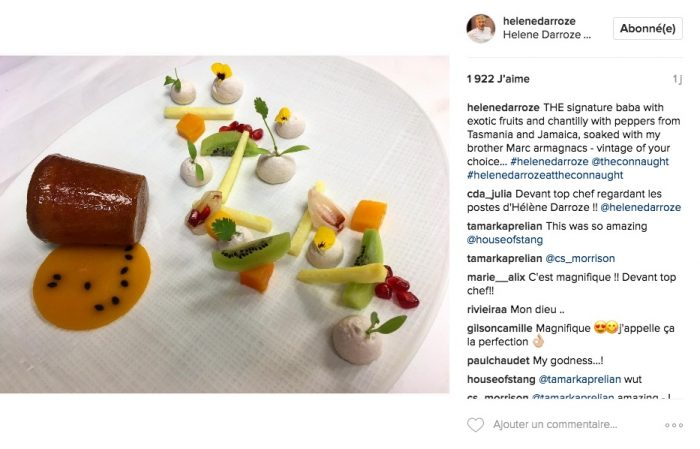 comptes instagram chefs