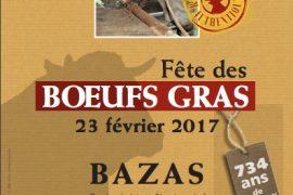 Fête des Boeufs gras de Bazas 2017