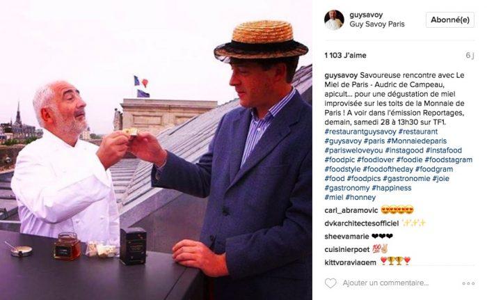 comptes instagram chefs