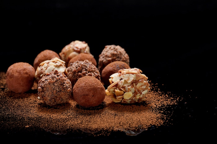 truffes chocolatées