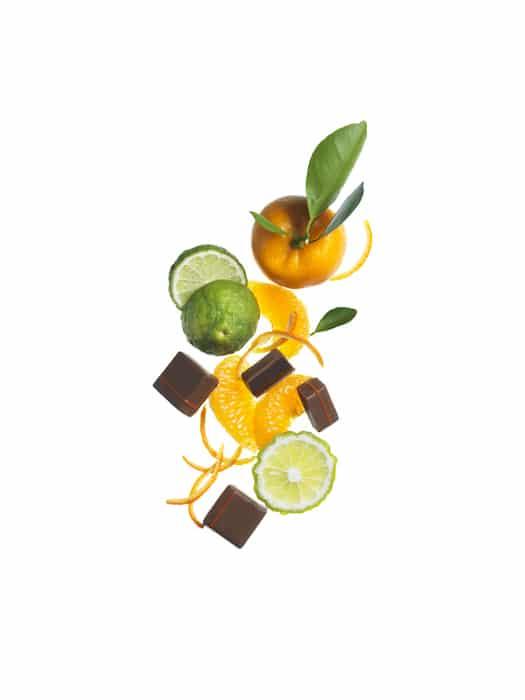 agrumes et chocolats