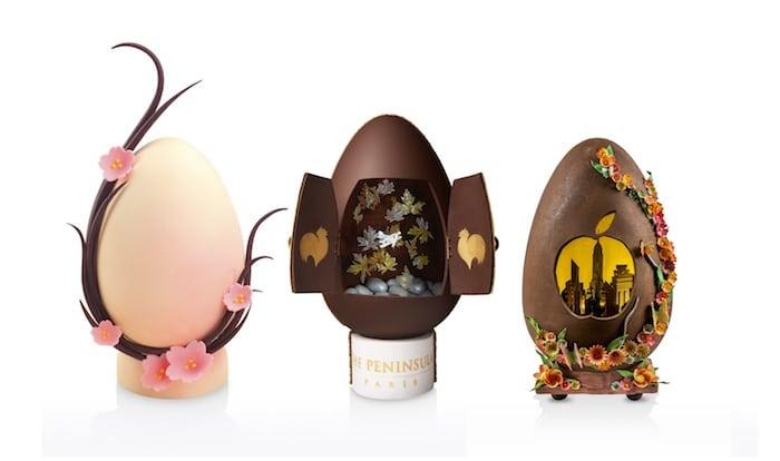 Tokyo, New-York et Paris, les 3 œufs du Peninsula