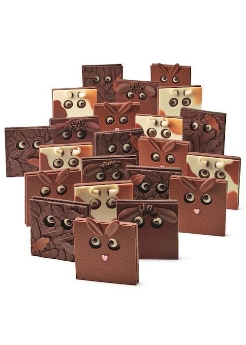 Le bestiaire de Nicolas Cloiseau pour la Maison du Chocolat