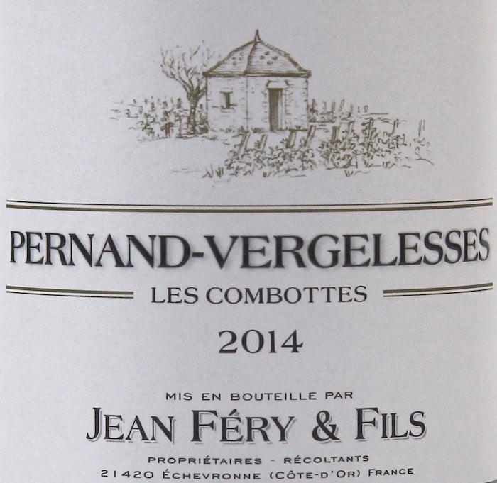 Pernand-Vergelesses Les Combottes 2014