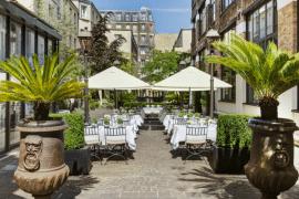 La terrasse cachée des Jardins du Marais