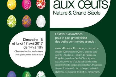 Chasse aux oeufs Nature & Grand Siècle