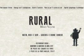 Rural by Marc Veyrat Soon