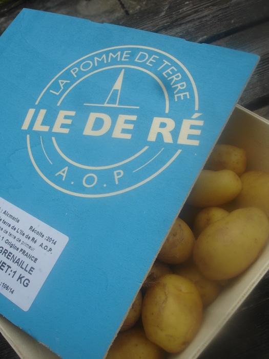 La pomme de terre de l'île de Ré