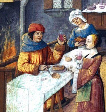 A table au Moyen-Age