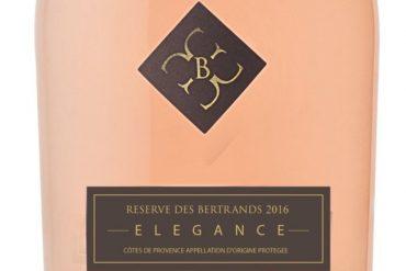 Elégance Rosé 2016 Réserve des Bertrands