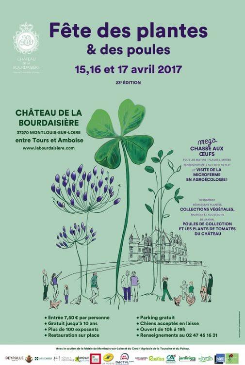 Fête des Plantes et des Poules Hôtel de la Bourdaisière