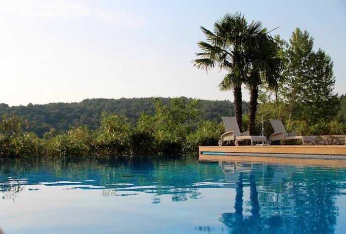 piscine Château de Berne