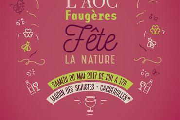 L'AOC Faugères fête la nature