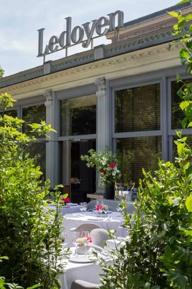 terrasse d'été du Pavillon Ledoyen