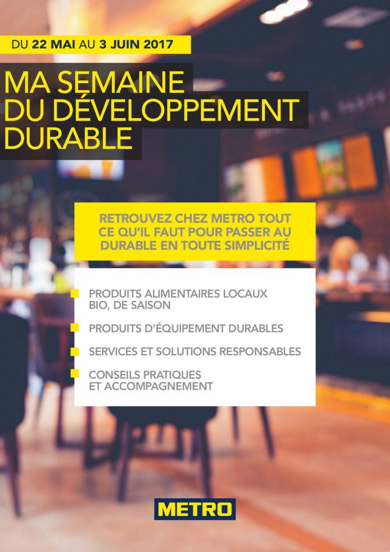 Aide au développement durable chez METRO