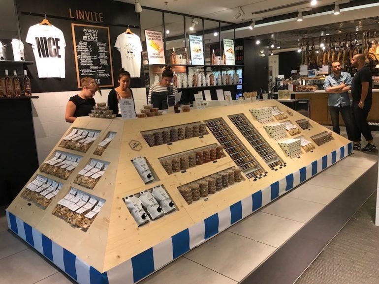 Pop-up store Les Niçois