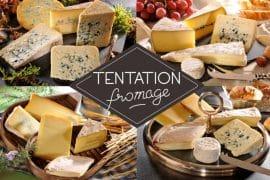Tentation Fromage et Ah La Vache