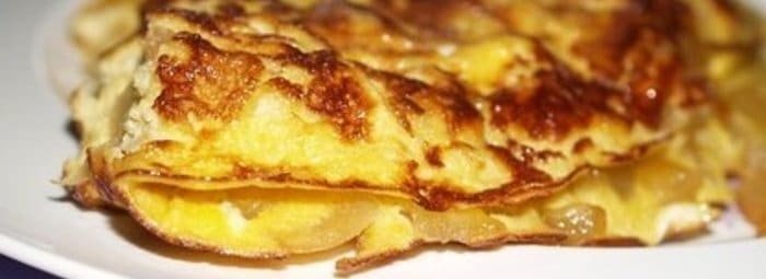 L'omelette Vallée d'Auge
