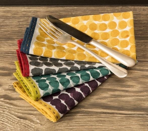 Suni les jolies serviettes de table