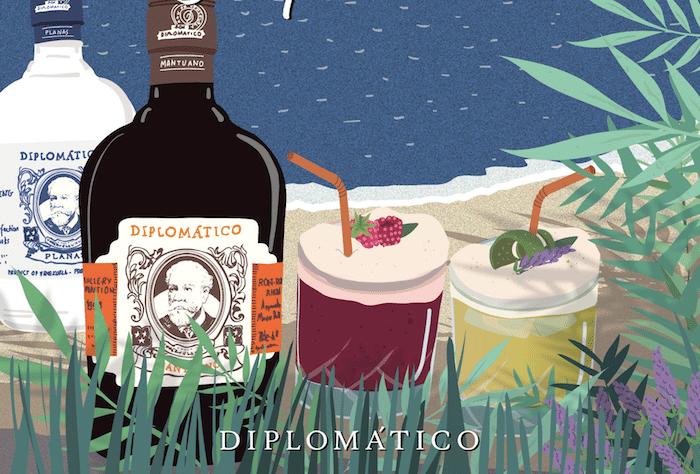 Les cocktails Diplomatico