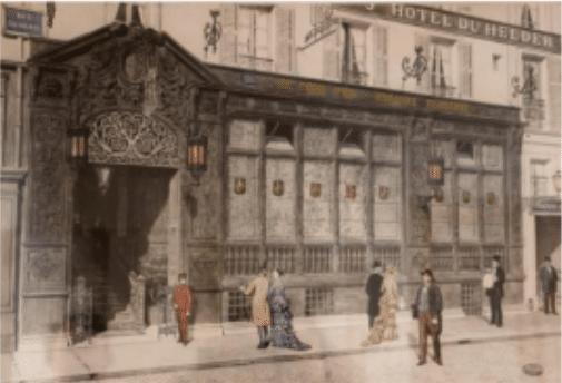 Maison Albar à Paris en 2019