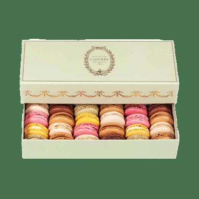 Livraison de macarons Ladurée