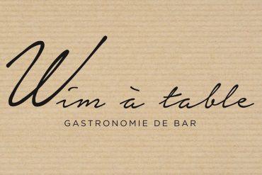 Wim à table
