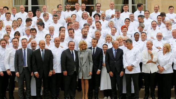 180 chefs étoilés réunis à l'Elysée