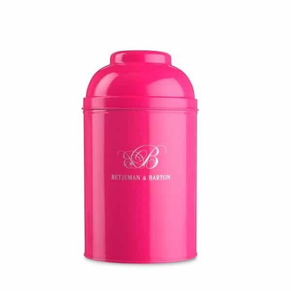 Boîte à thé Rose fluo de Bentjeman & Barton