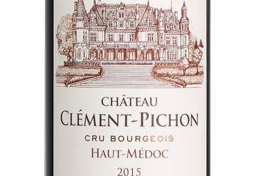 Château Clément Pichon millésime 2015
