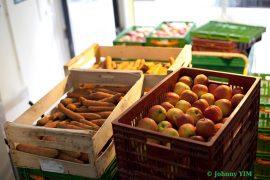halles alimentaires bio à Paris