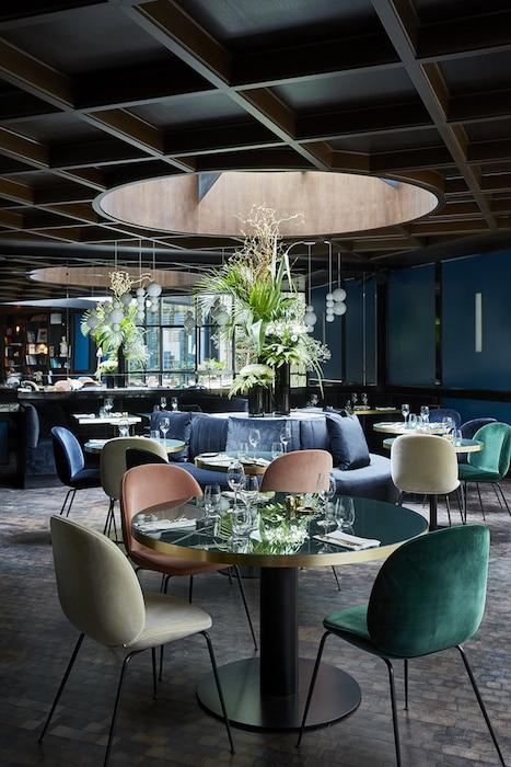 Les parisiens au restaurant, étude Aréas