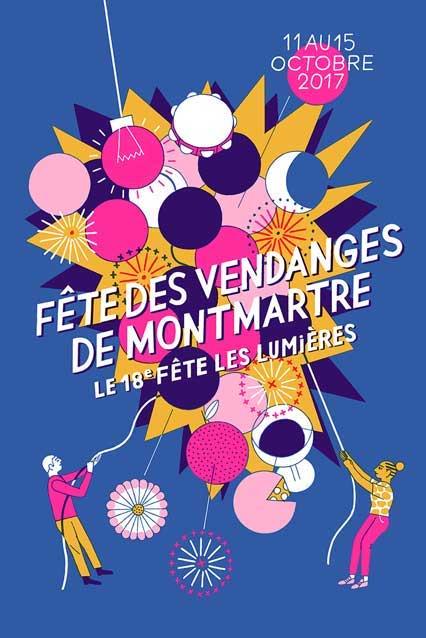 La Fête des Vendanges de Montmartre 2017