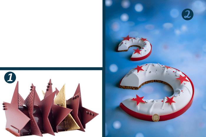 Les plus belles bûches de Noël 2017