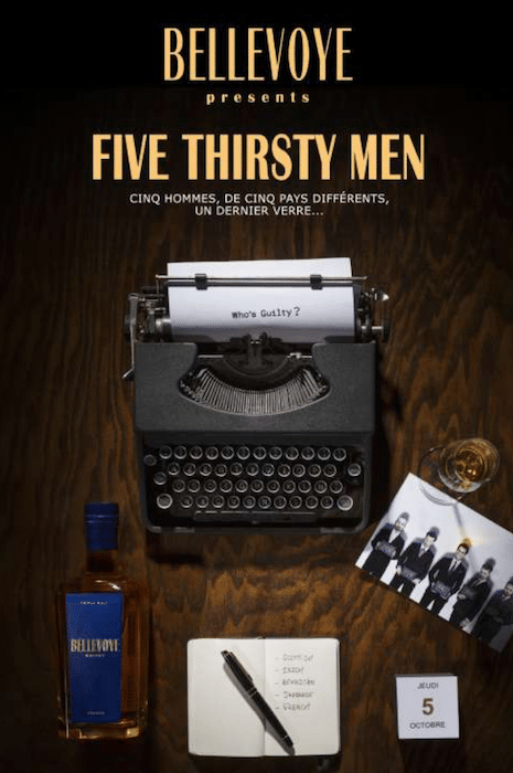 Five thirsty men de Bellevoye