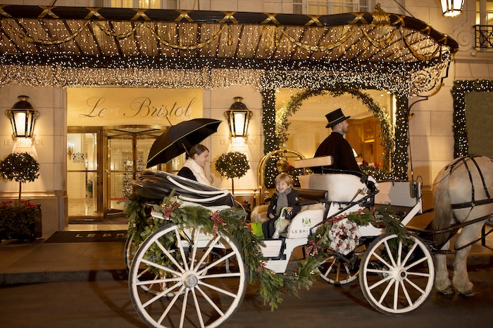 Un Noël enchanteur au Bristol Paris