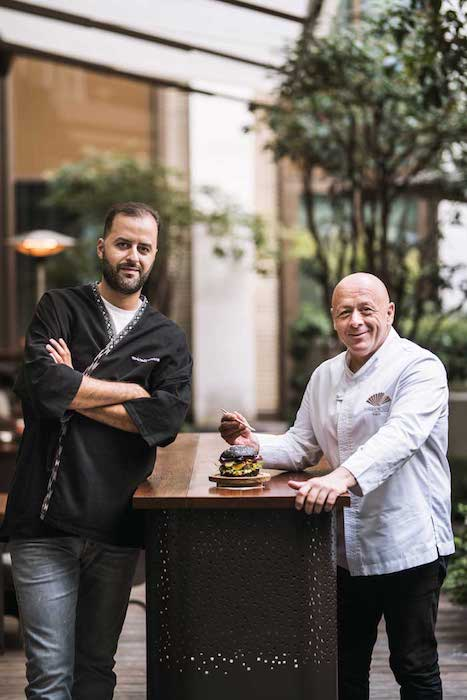 Burger battle au Mandarin Oriental