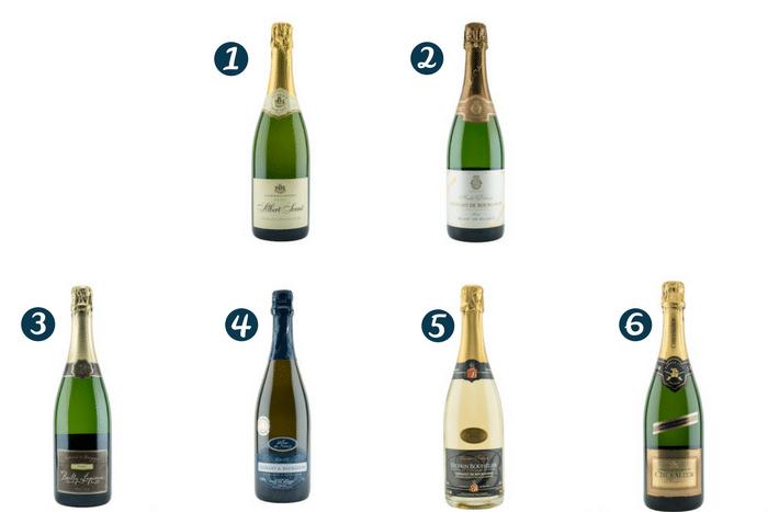 Sélection vins effervescents 2017